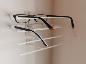 Glasses Holder - wall mounted, stackable