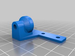 Palette 2 Teflon Tube Clip for Creality Ender 5 Plus (+ other Ender models) with stock extruder