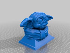 Baby Yoda Bust