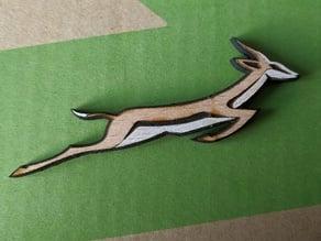 Springbok pin badge