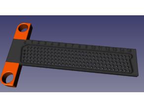 Kleines Anreißlineal metrisch / Small Marking Ruler Imperial / Marking Gauge / T-Square