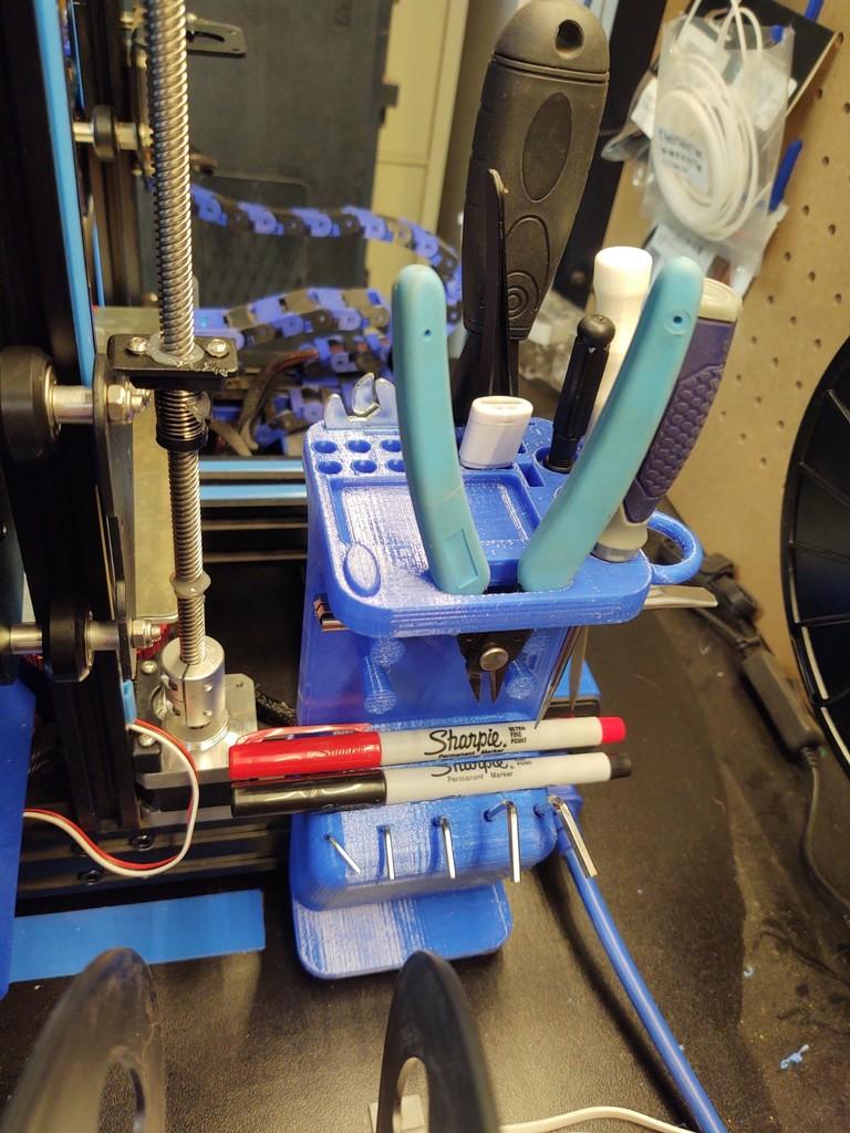 Ender 3 Pro Dual Z Tool Holder