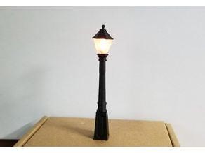 Train / Dept. 56  Model Street Lamp