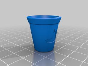Benchy Flower Pot!