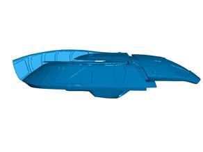 Firefly Serenity Shuttle Refrigerator / Whiteboard Magnets