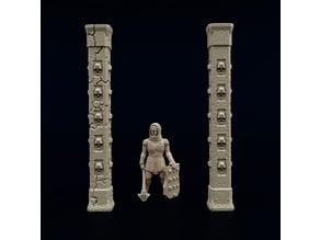 Slender Skull Pillars