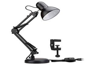 Fixation pour lampe de bureau
