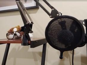 Desk Lamp Arm Clamp (Ikea TERTIAL-style mount)