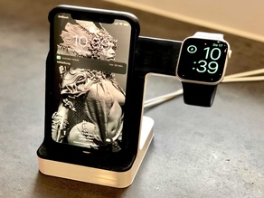 Apple Watch & iPhone charging station