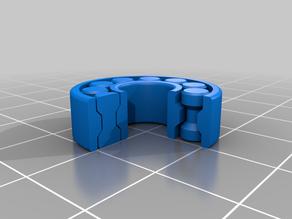 3D Printable bearing customizable