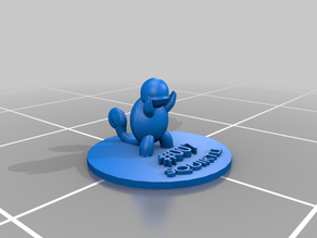 Squirtle - No supports, base