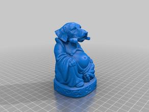 Dog with Bone Buddha (Canine Collection)