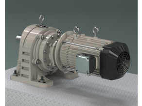 Gear Motor - Foot mount