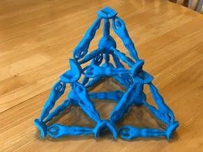 Human Strut for Isotropic Vector Matrix Construction