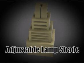 Adjustable Lampshade