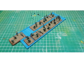 FOW - Team Yankee or Flames of war transport infantry profile