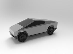 Tesla Cyber Truck Fan Model