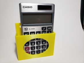 Pocket Calculator Wall Mount