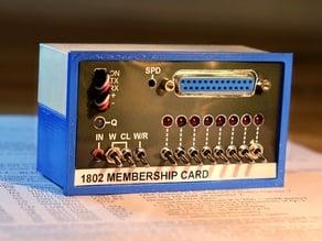 1802 Membership Card Altair 8800 Case