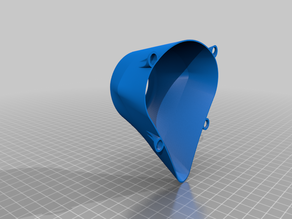 Easy-Print Respirator Face Cup (no supports)