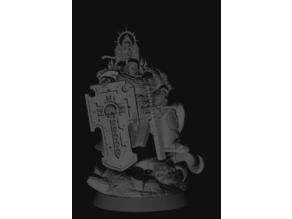 Black Templar bladeguard veteran