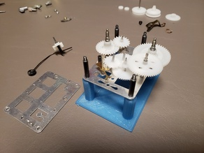 Alarm clock repair assembly stand