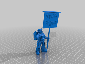 Totally Accurate Arch the Space Marine Libertarian