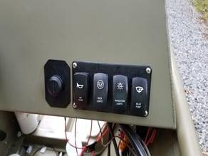 Carling Contura 4 Switch Panel