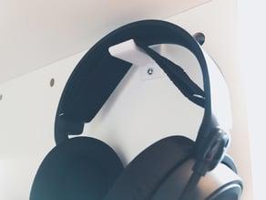 Super Simple Easy To Print Headphone Hanger/Mount