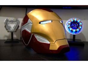 Iron Man MK85 Helmet Motorization