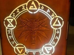 The Witcher 3 Wild Hunt Lantern/Box