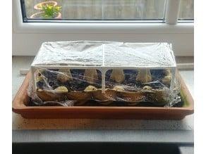 Egg Box greenhouse