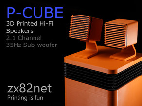 P-CUBE hi-fi speakers with Voxel subwoofer