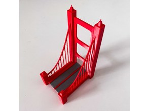 Suspension Bridge Phone Stand