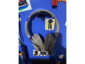 wall holder for headphone