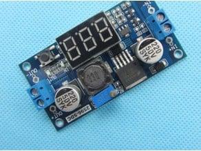 LM2596 regulator voltmeter