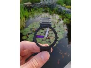 Concept skeleton watch