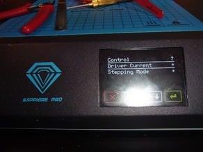 Sapphire Pro (Robin Nano) UART connection to TMC2209
