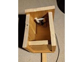 ESP32-Cam bracket for bird nesting boxes