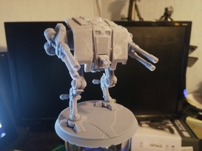 Galactic Empire Dreadnought (Split for easy print)