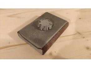 Full printable sanding block sideswipe