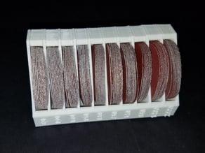 "2"" (50mm) Sanding Disk Holder 10 Slots"