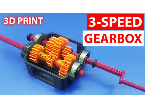 3- Speed Gearbox / Transmission