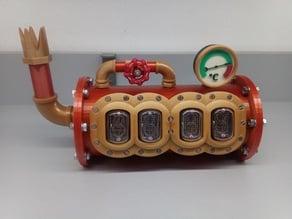 Steampunk Nixie Tube Clock II