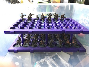 Miniature Figures Storage Tray fits SAMLA box stackable