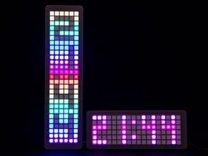 Grid Clock v2 - Vertical Mod