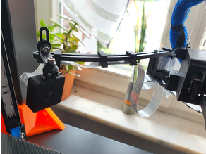Adjustable Raspberry Pi-Camera Holder