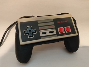 NES Controller Grip / Shell / Holder - Based off PS4 Controller