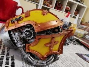 Machine Gods Head with interior