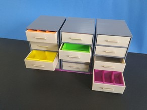 Mini Drawers With Compartments